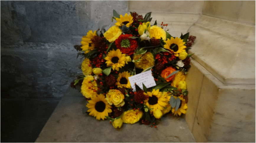 Annual Wreath Laying at Westminster Abbey