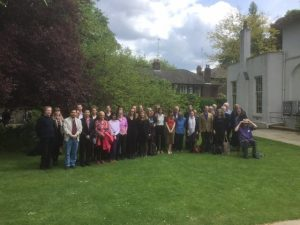 Keats Foundation Conference Participants at the Fourth Bicentennial John Keats Conference